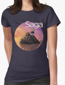 Saga Comic Ghus Womens Fitted T-Shirt