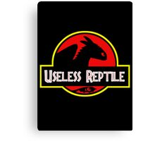 Useless Reptile Canvas Print