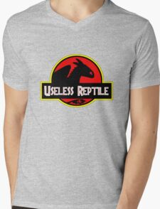 Useless Reptile Mens V-Neck T-Shirt