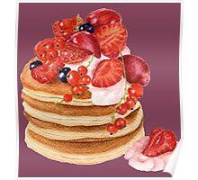 Lovely Pancakes Poster