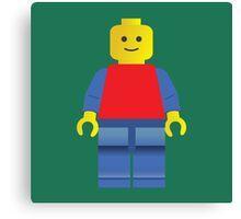 LEGO man Canvas Print