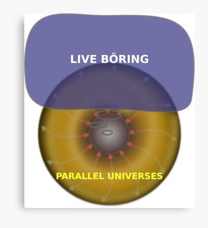 Parallel Universes - IKEA Canvas Print