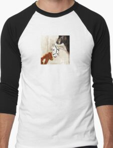 Wetnose Shetland pony Colour Men's Baseball ¾ T-Shirt