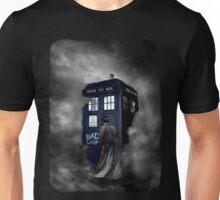 Blue Box in The Mist Unisex T-Shirt