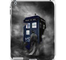 Blue Box in The Mist iPad Case/Skin