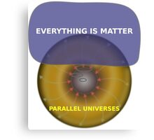 Parallel Universes - JC Penny Canvas Print