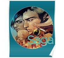 Saga Comic Skwad Poster