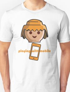 PLAYING WITH MOBILE T-Shirt