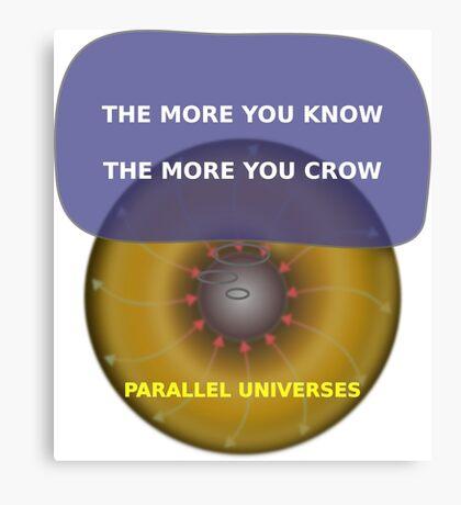 Parallel Universes - Kohls Canvas Print