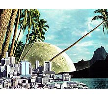 Paradise Lost, Vintage Collage Photographic Print