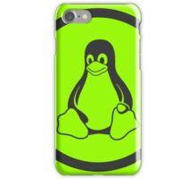 Tux Green iPhone Case/Skin