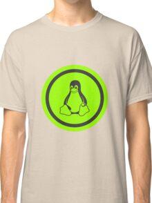 Tux Green Classic T-Shirt