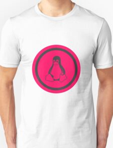 Tux Red Linux Unisex T-Shirt