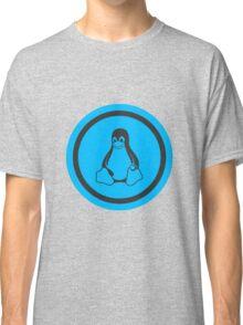 Tux Blue Classic T-Shirt
