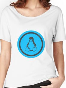 Tux Blue Women's Relaxed Fit T-Shirt