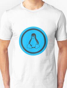 Tux Blue Unisex T-Shirt