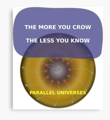 Parallel Universes - Kohls2 Canvas Print