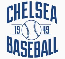 Chelsea Baseball Club - Blue Version One Piece - Short Sleeve