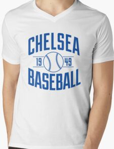 Chelsea Baseball Club - Blue Version Mens V-Neck T-Shirt