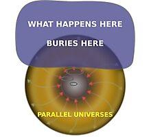 Parallel Universes - Las Vegas Photographic Print