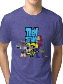 Teen Titans Go! 1 Tri-blend T-Shirt