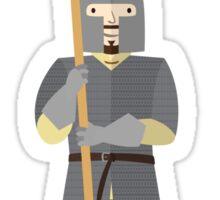 Medieval mercenary 6 Sticker