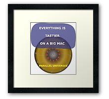 Parallel Universes - Mac Framed Print