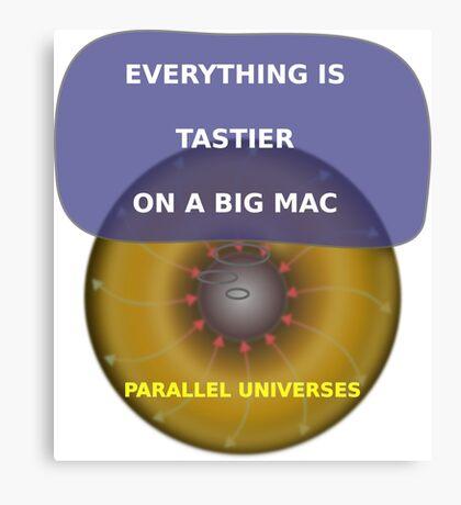 Parallel Universes - Mac Canvas Print