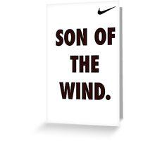 Son of the Wind - Hanuman Greeting Card
