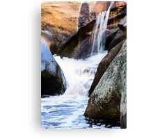 Boulder Smoothing  Canvas Print
