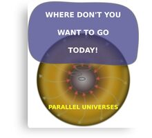 Parallel Universes - MS3 Canvas Print