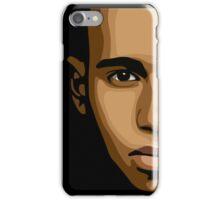 Lewis Hamilton Face 1 iPhone Case/Skin