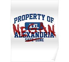 Property of Negan Poster