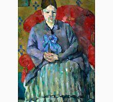 1887 - Paul Cezanne - Madame Cézanne in a Red Armchair Unisex T-Shirt