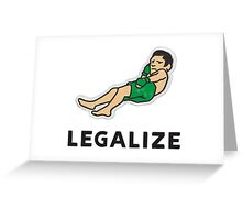 Legalize Nick Diaz! Greeting Card