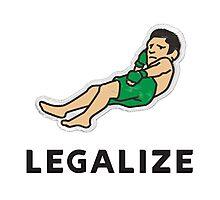 Legalize Nick Diaz! Photographic Print