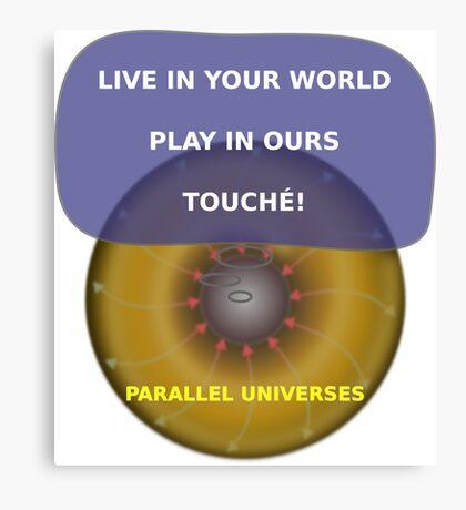 Parallel Universes - Sony Canvas Print