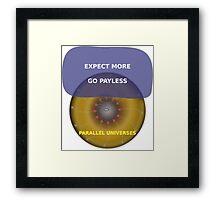 Parallel Universes - Target Framed Print