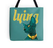 Saga Comic Lying Cat Tote Bag