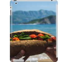 Huge Sandwich for Big Hunger - Product Photography iPad Case/Skin