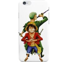 ONE PIECE - ZORO AND LUFFY iPhone Case/Skin