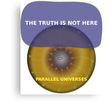 Parallel Universes - The X Files Canvas Print