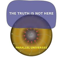 Parallel Universes - The X Files Photographic Print