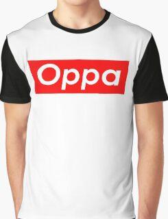 Oppa 오빠 Graphic T-Shirt
