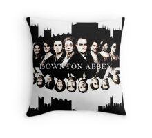 Downton Abbey Throw Pillow
