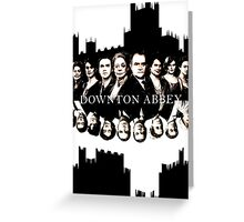 Downton Abbey Greeting Card