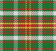 Pattern Scottish tartan Sticker