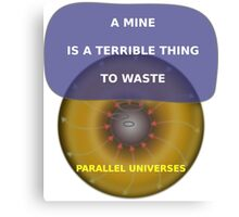 Parallel Universes - United Negro College Fund Canvas Print
