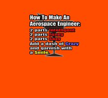 How To Make An Aerospace Engineer Unisex T-Shirt