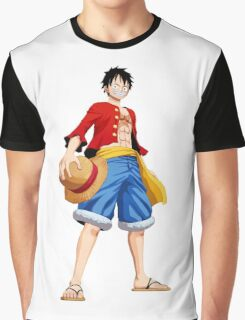 ONE PIECE - CAPTAIN LUFFY Graphic T-Shirt